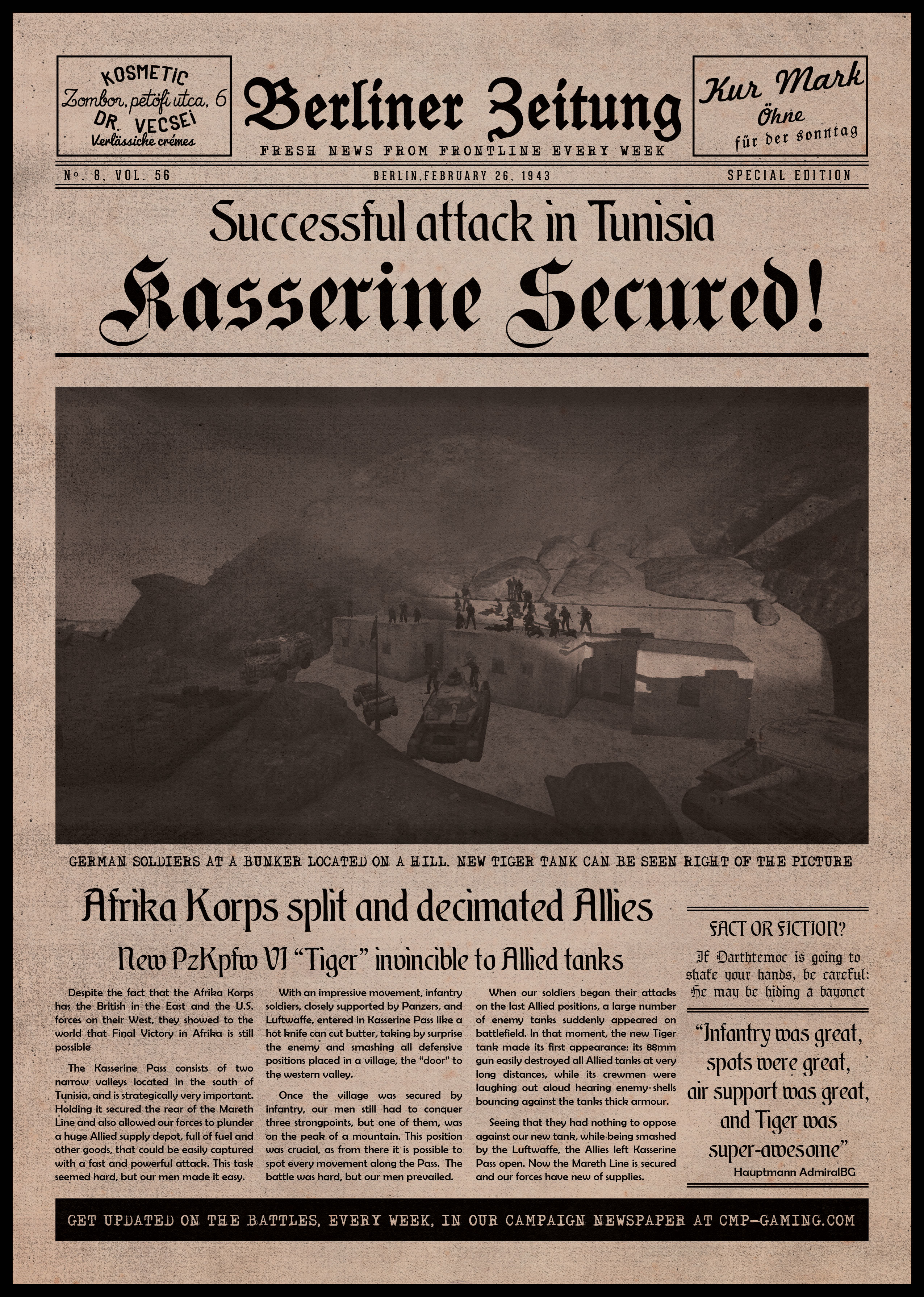 FH2 Newspaper